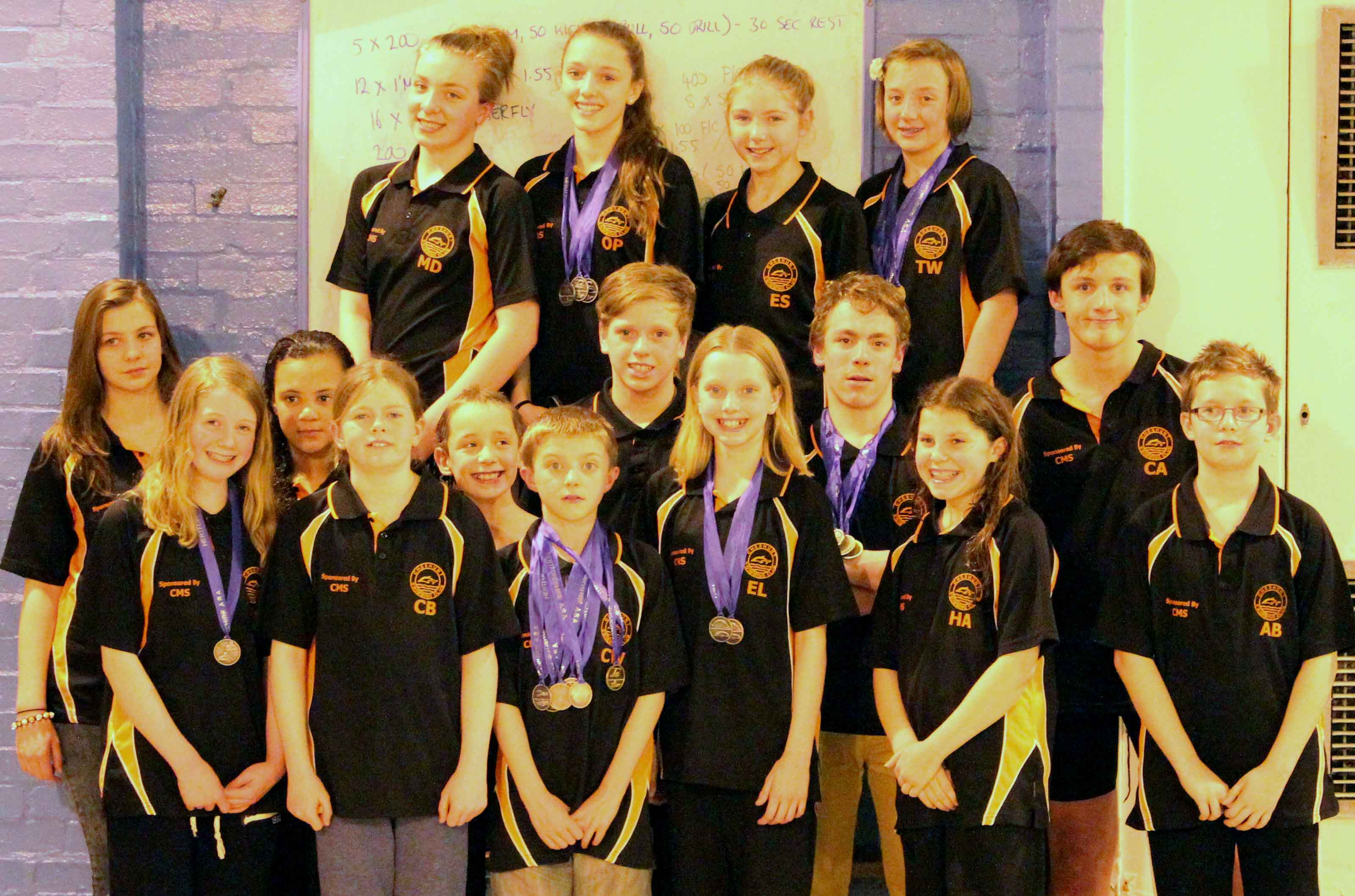 County Championships Medals Photo 2013
